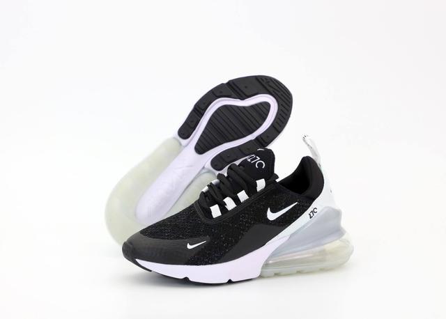 Кросівки Nike Air Max 270 Black White Mint фото