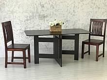 Стол обеденный раскладной Слим Бег венге