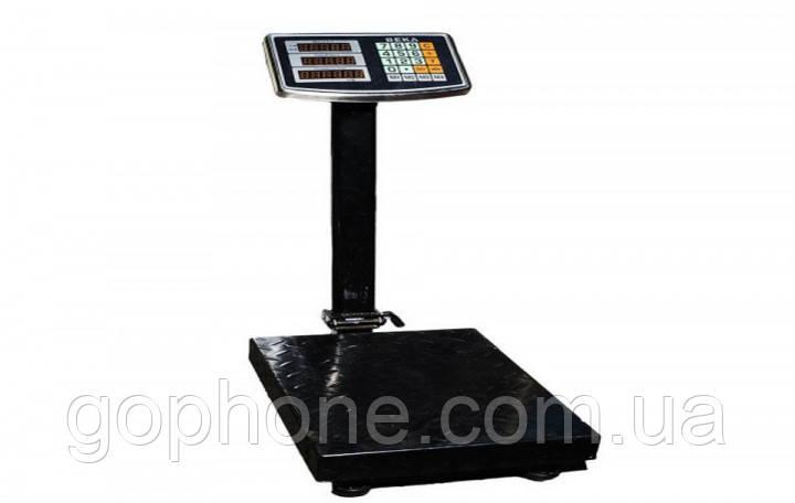 Электронные торговые до 200 кг с усиленной платформой 30*40 весы