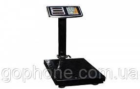 Електронні торгові до 200 кг з посиленою платформою 30*40 ваги