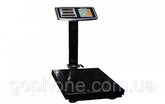 Электронные торговые до 200 кг с усиленной платформой 30*40 весы, фото 2