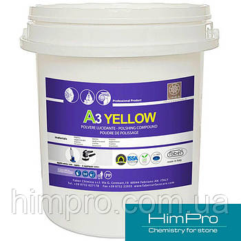 A3 YELLOW 5kg Кристаллизатор для мрамора
