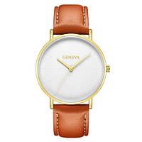 Geneva Classic Brown-Silver-White