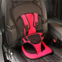 Дитяче автокрісло Multi Function Car Cushion Rose, фото 2