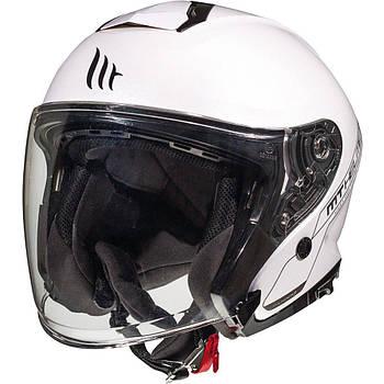 Мотошлем MT THUNDER 3 SV JET A0 white