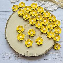 Цветы Незабудки 15мм Желтые распродажа