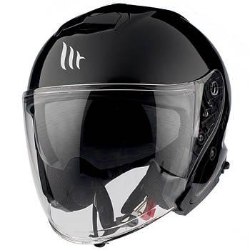 Мотошлем MT THUNDER 3 SV JET A1 black