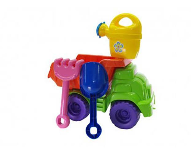 Машинка с песочным набором  Doloni
