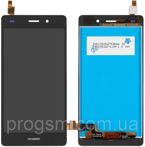 Дисплей Huawei P8 Lite (ALE-L21) complete Black