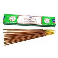 Яркий и бодрящий аромат Ayurveda уместно использовать во время медитации, практики йоги, массажа...