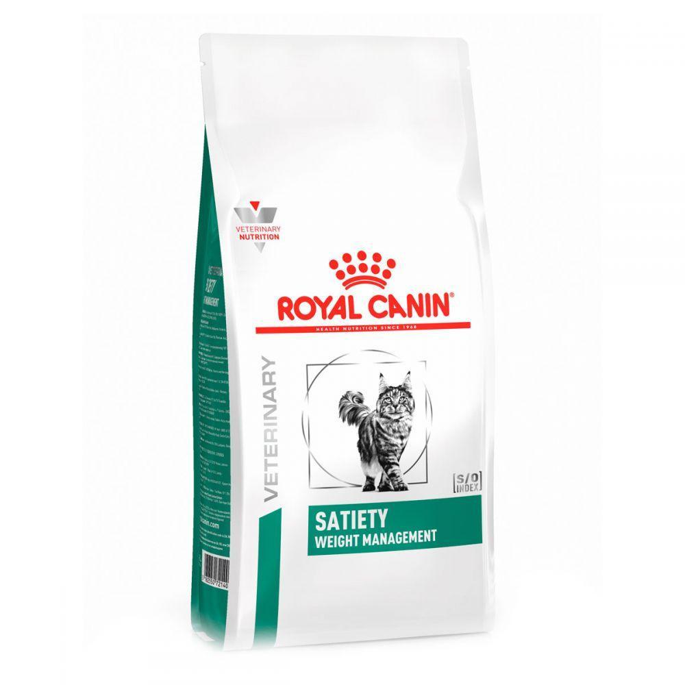 Сухой лечебный корм Royal Canin Satiety Weight Management (контроль веса) для кошек 3,5КГ