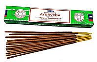 Премиальные благовония Satya Ayurveda, Аюрведа для медитации, практики йоги, массажа
