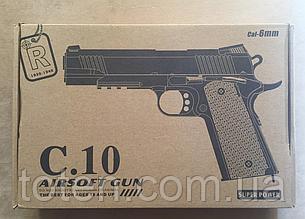 Пістолет дитячий метал+пластик Airsoft Gun C10 (11) 17