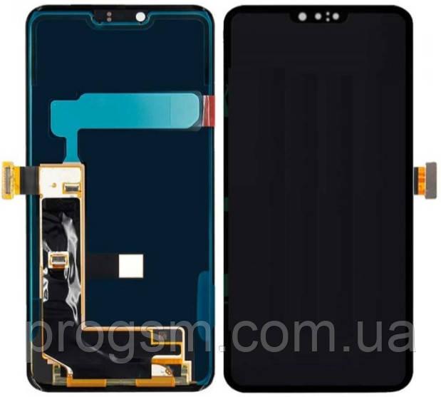 Дисплей LG G8 ThinQ (LM-G820V / LM-G820N / LM-G820UM / LM-G820TM / LM-G820M) complete Black