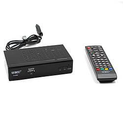 Тюнер DVB-T2 0968 METAL с поддержкой wifi адаптера (с экраном)