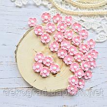 Цветы Незабудки 15мм Розовые матовые