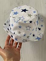 Хлопковая панамка от солнца размер 52-54 см, фото 1