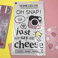Набор декоративных наклеек Home Decor Just Say Cheese