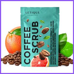 Кофейный скраб для тела Letique