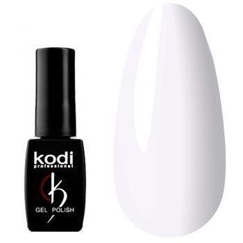 Гель лак Kodi 8 МЛ White № 01BW Белый