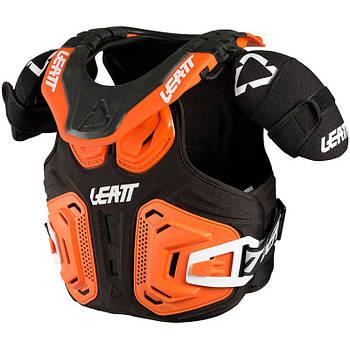 Защита тела и шеи детская LEATT FUSION VEST 2.0 Jr orange