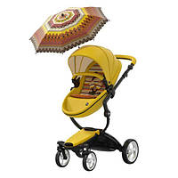 Коляска-трансформер 2 в 1 Mima Xari Yellow Limited Edition
