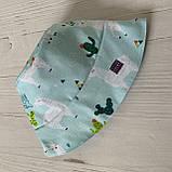 Хлопковая панамка от солнца размер 42-44 см, фото 3