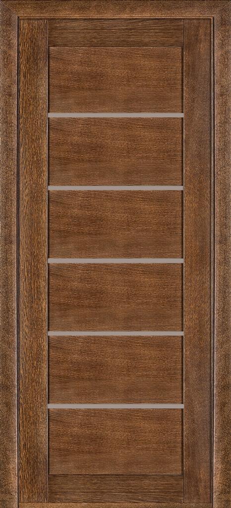 Дверь межкомнатная Terminus Модель 137 Дуб браун цвет (глухая)