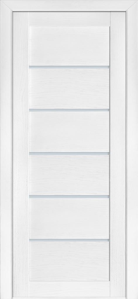 Дверь межкомнатная Terminus Модель 137 Ясень белый Эмаль цвет (глухая)