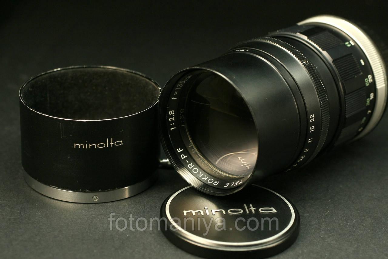 Rokkor-PF 135mm f2,8 з байонетом Canon EF
