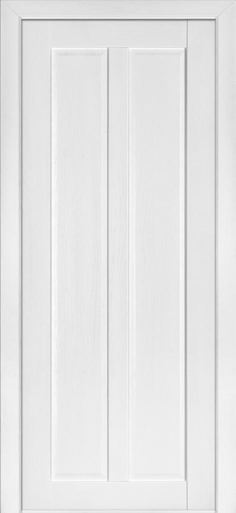 Дверь межкомнатная Terminus Модель 117 Ясень белый Эмаль цвет (глухая)