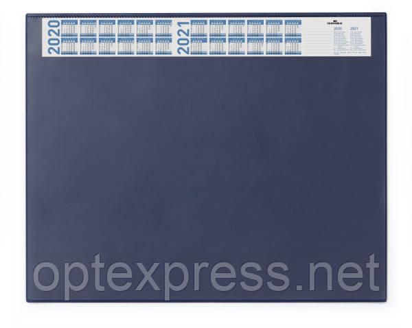 Настольное покрытие синее с прозрачным клапаном  DURABLE 7204 07