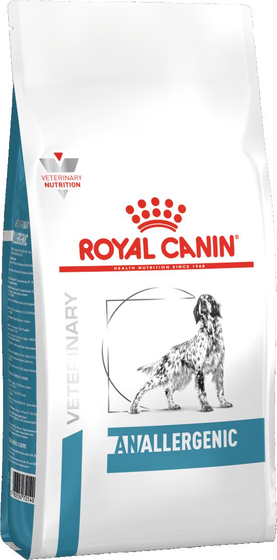Сухой корм Royal Сanin Anallergenic Dog для собак 3КГ