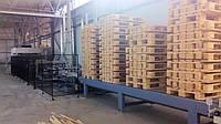Автоматическая линия для производства европоддонов, оборудование для изготовления паллет (Италия)