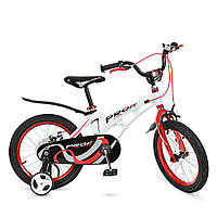 Велосипед двухколесный «Profi» LMG18202 Белый(колеса 18 дюймов)
