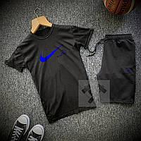 Комплект Футболка + Шорты Nike SB x black мужские   спортивный костюм летний, фото 1