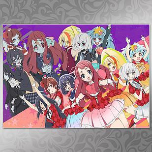Плакат Аниме Zombieland Saga 04