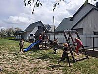 ДЕТСКАЯ площадка ИГРОВАЯ из дерева, комплекс детский, игровой п21