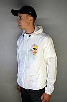 Вітровка Off-White Bart Simpson White, фото 2