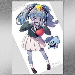 Плакат Аниме Zombieland Saga 19
