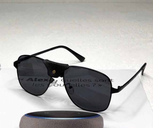 Мужские солнцезащитные очки Cartier (8020) black