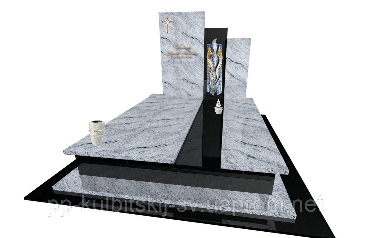 Пам'ятник гранітний світлий граніт Е8000