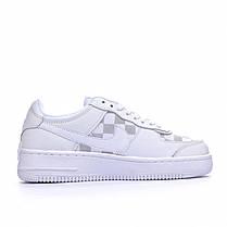 "Кроссовки Nike Air Force 1 Louis Vuitton ""Белые"", фото 2"