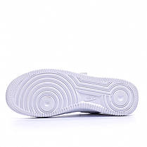 "Кроссовки Nike Air Force 1 Louis Vuitton ""Белые"", фото 3"