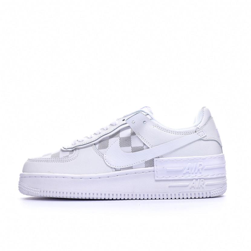 "Кроссовки Nike Air Force 1 Louis Vuitton ""Белые"""