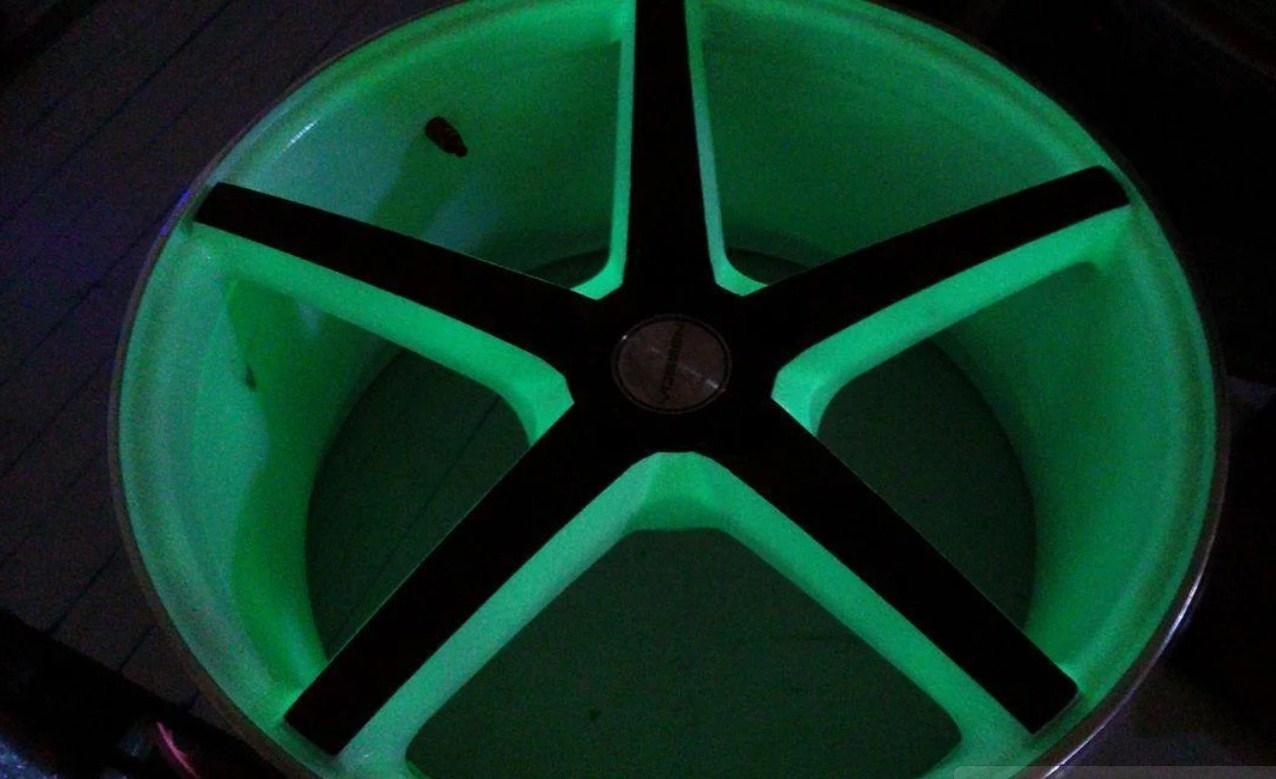 Светящийся порошок люминесцент зеленый в темноте и белый на свету Люминофор Просто и Легко 500г SKL12-241407