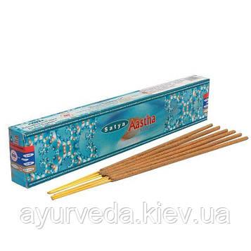 Aаstha - Сиддхи чистые и натуральные ингредиенты, в том числе эфирные масла, травы и древесные смолы, 15gm