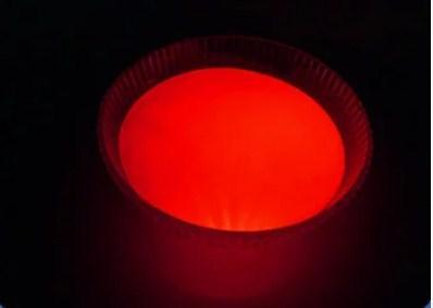 Светящийся порошок люминесцент оранжево красный в темноте и красный на свету Просто и Легко 20г SKL12-241333