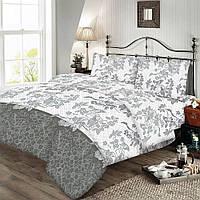 Комплект постельного белья бязь-голд Zastelli 20-0471 grey Двуспальный евро комплект