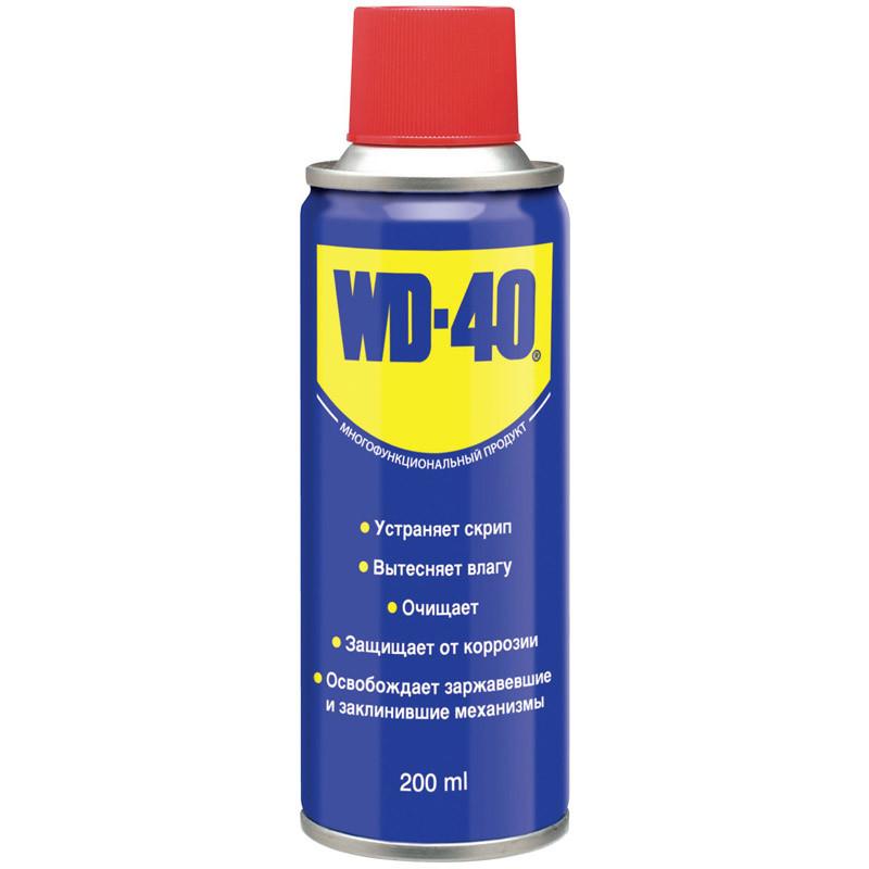 WD-40 универсальная смазка/очиститель 200мл.